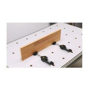 Image 5 - 木工デスクトップクリップ調節可能なフレーム木工高速固定クリップ具木工用ベンチ