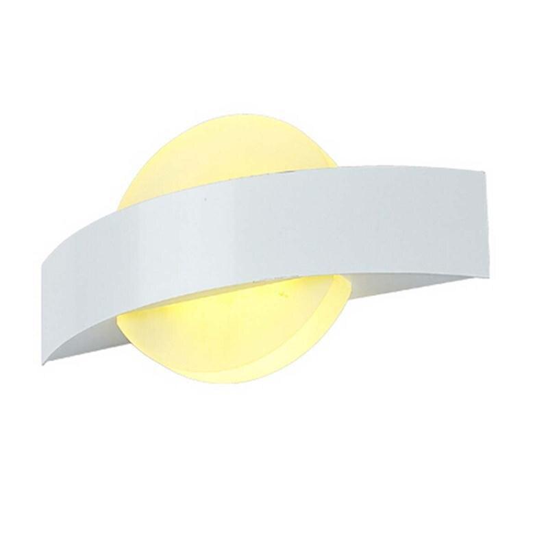ФОТО Creative Bedroom Wall Lights Modern Minimalist LED Mount Light Fixture Makeup Wall Lamps Led Vanity Toilet Wall Mounted Lighting