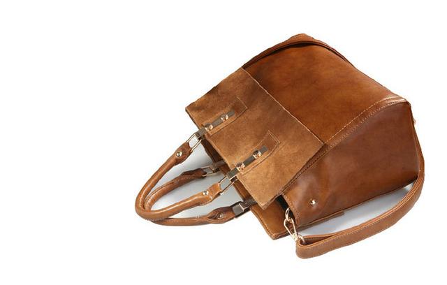 New 2017 Handbag Brand Women Cow Split Leather Temperament Woman Retro Bags Embossed Fashion Ladies Crossbody Bags