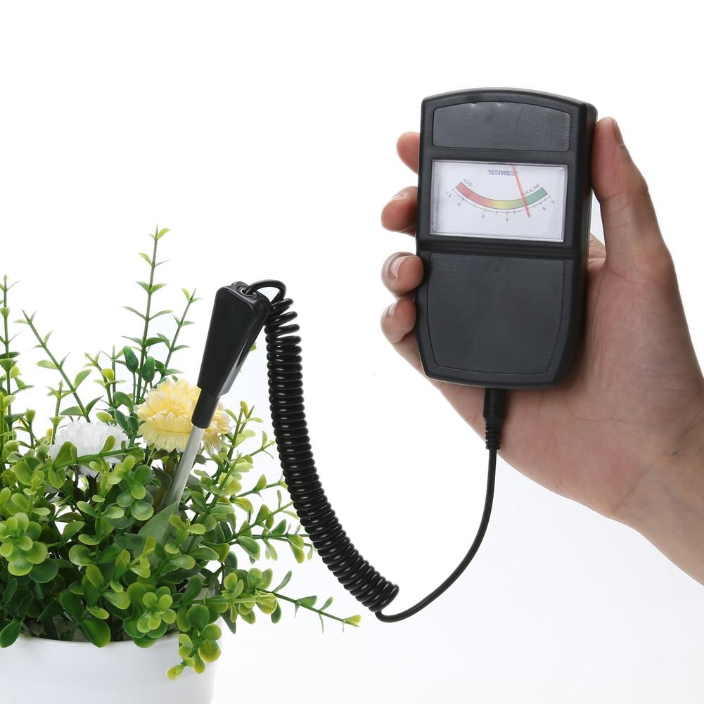 2.5-10.0pH Tester di pH del suolo Tester per piante Colture Fiori - Strumenti di misura - Fotografia 3