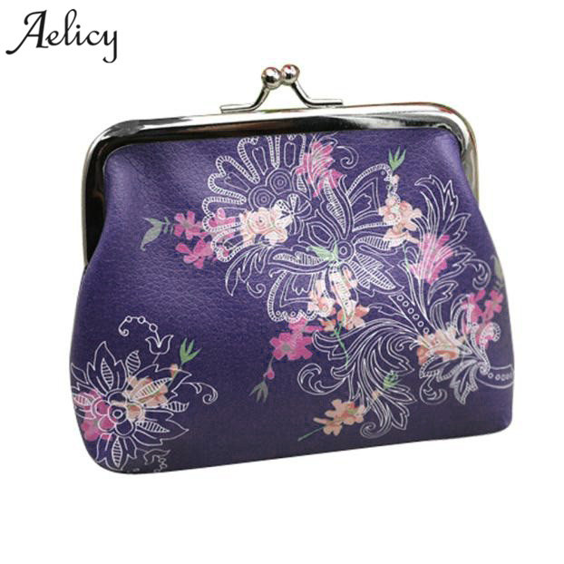 все цены на Aelicy 2018 Womens Wallets Small Wallet Card Holder Coin Purse Clutch Bag Ladies Wallet Hasp Woman Wallet Hasp Coin Purse