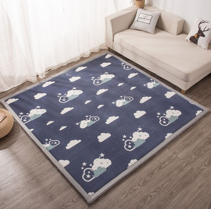 2/3 CM épaissir corail polaire tapis salon grande taille tapis enfants chambre bébé jeu antidérapant tapis maison enfants Tatami tapis