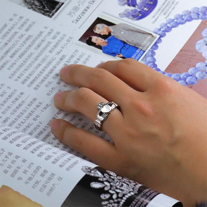 Us 4 99 Milatu Irish Claddagh Rings For Women Hand Love Heart Crown Wedding Engagement Ring Best Friends Friendship Ring Alliance R186g In Wedding