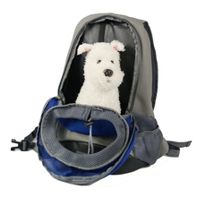 Pet Backpack Bag Nylon Yellow Green Blue Portable Carrier Carrying Cat Dog Puppy Small Front Carrier For Pet Shoulder Bag