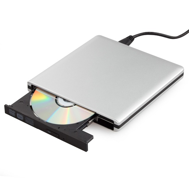 Ultra slim externo usb 3.0 de alta velocidade cd-rw dvd-rw super drive leitor escritor burner para apple macbook air, PC Laptop