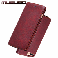 Laumans Woman Ultra Slim Phone Case For IPhone 7 Plus Lady Girls Luxury Leather Cases Cover