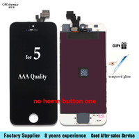 Mobymax Assembly 5 LCD Display With Touch Screen Digitizer For IPhone 5 A1428 A1429 A1442 With