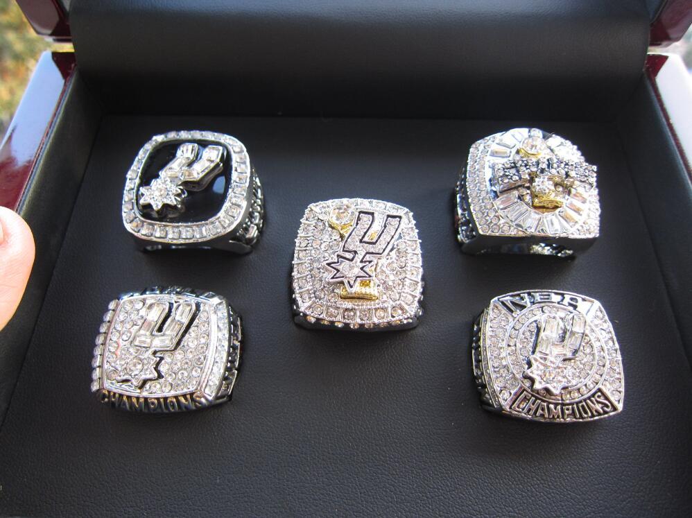 5pc 1999 2003 2005 2007 2014 San Antonio Spur Championship ...  5pc 1999 2003 2...