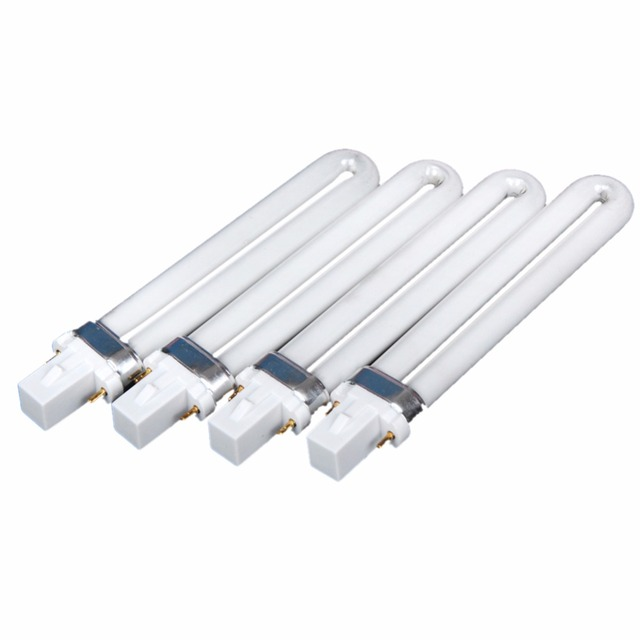 4pcs UV Lamp Bulbs For 36W UV Gel Nail Lamp Dryer Curing Machine For ...