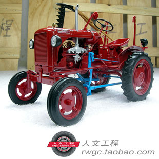Valmet 20 Valmet farm tractor alloy car model collection gift French UH 1:16 цена