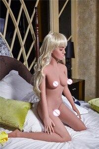 Image 2 - 155cm # אורורה TPE עם מתכת שלד מין בובות נדל און vajina אהבת בובות זכר בובות מין לנשים נרתיק מציאותית