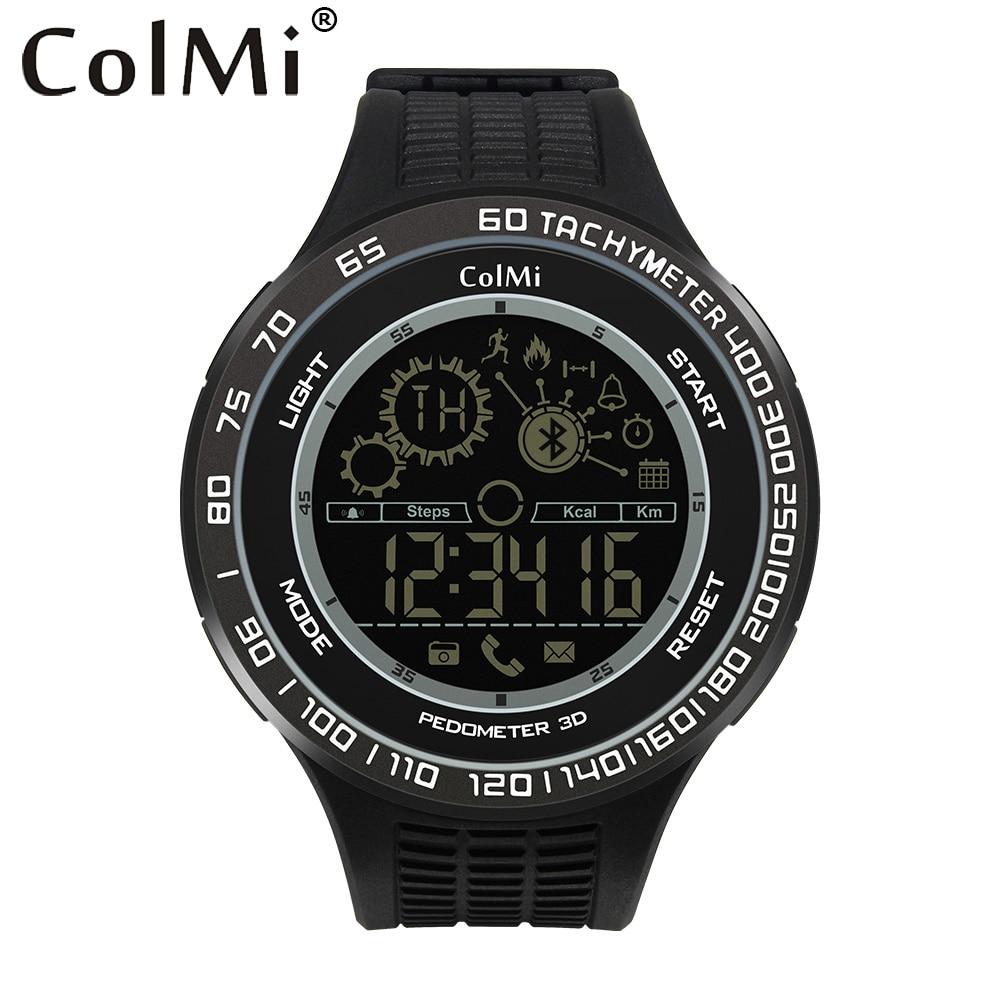 ColMi Sport Smart Watch King Kong 5ATM IP68 Waterproof Passometer Ultra long Standby 33 Months font