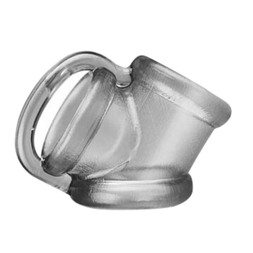 Zerosky Male Scrotal Binding Cock Ring Sex Toys Silicone Time Delay Penis Ring Scrotum Ring Chastity Cage Penis Sleeve for Men 9
