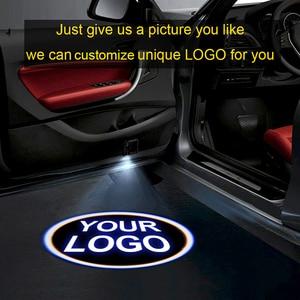 1pcsCustom logo projector LED