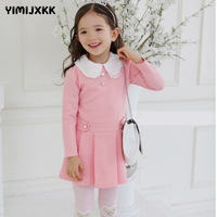 New 2016 High Quality Baby Girl Princess Dress Fashion Patchwork 2 7 Age Girl Kids Pure