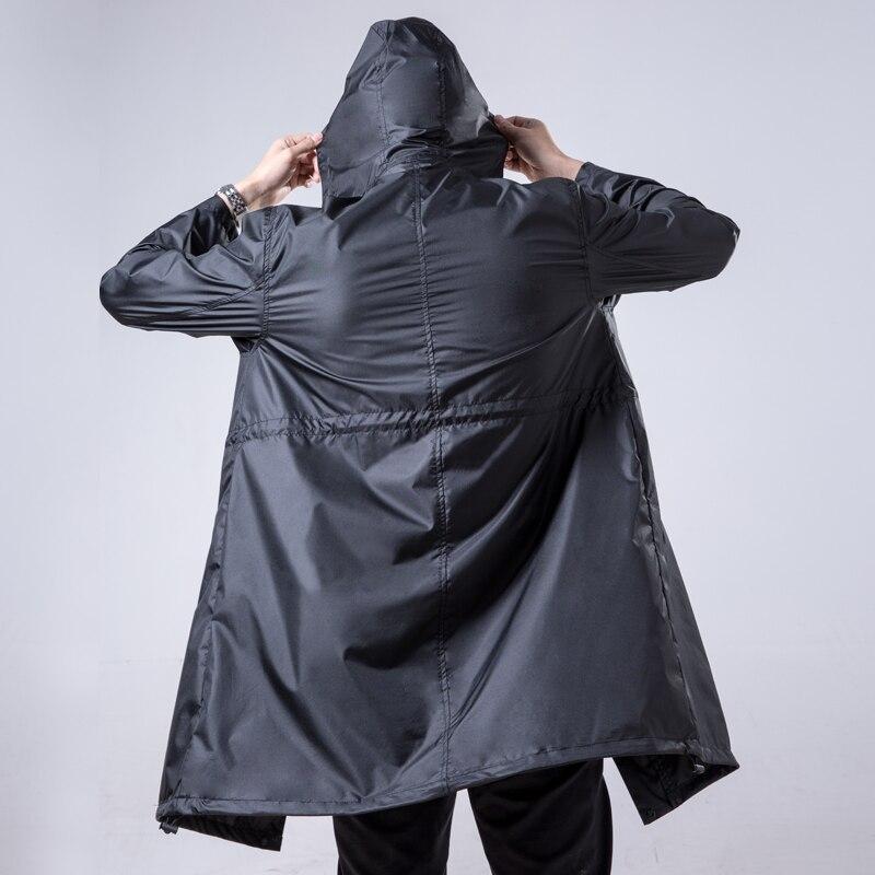 FreeSmily Hommes Imperméables Randonnée Adultes Hommes Pour Manteau de Pluie poncho Veste capa de chuva chubasqueros être construits de façon IMPERMÉABLES