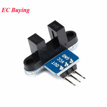 IR Infrared Slotted Optical Speed Measuring Sensor Smart Car Wheel Counting Speed Sensor Detection Optocoupler For Motor Test(China)