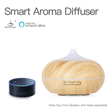 GX.Diffuser LED & Timer Settings Aroma Diffuser Smart Wifi Essential Oil Aromathery Ultrasonic Aromatherapy