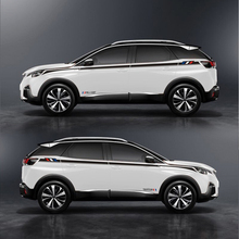 World Datong car styling sport sticker For PEUGEOT 3008 3008GT 2017 4008 5008  Both side body auto stickers