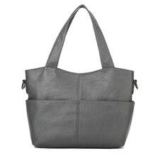 YILIAN Ms. messenger bags fashion Pure color fallow Pu Leather Handbag Female Shoulder Bag Winter bag 8301