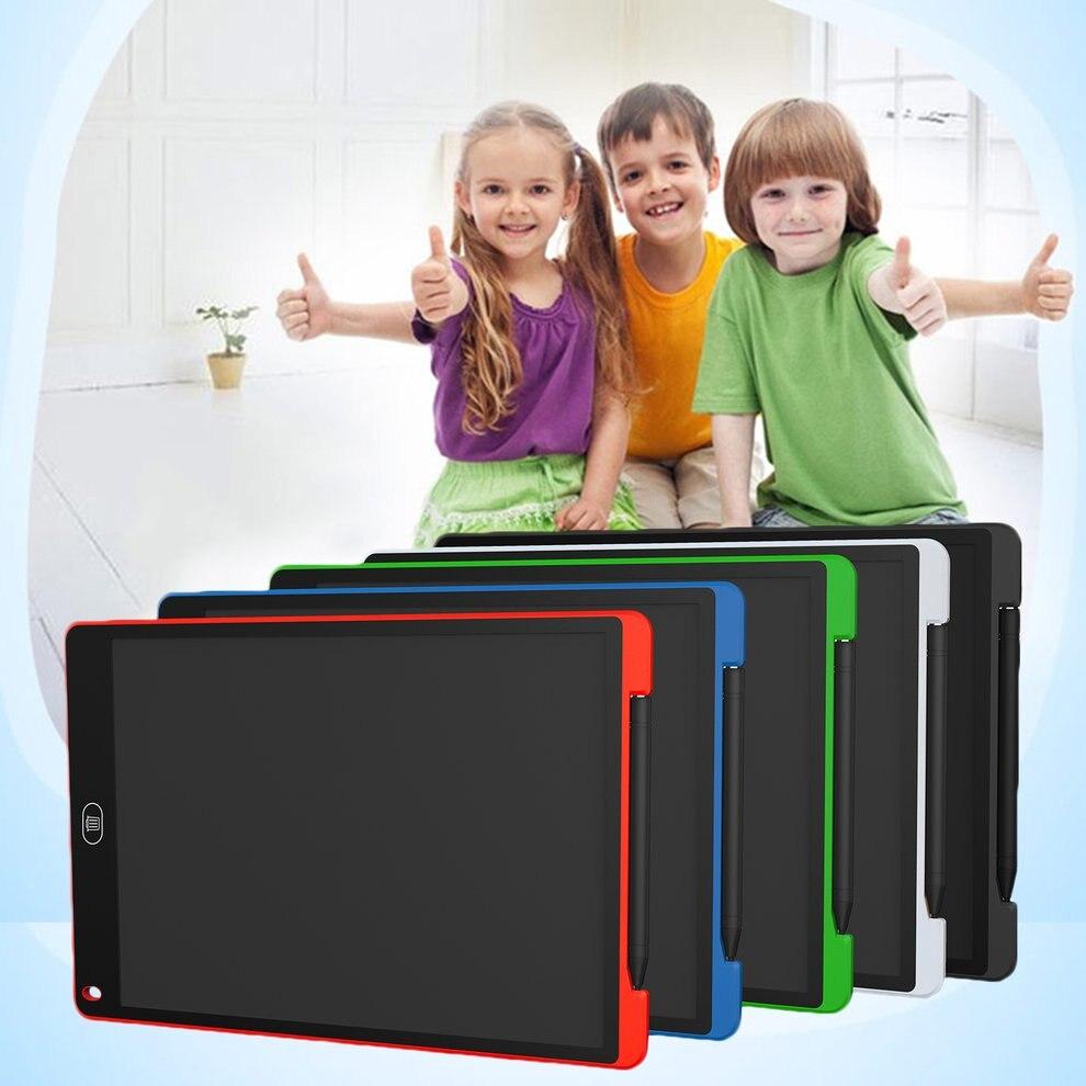 10 pcs 12 pouces LCD Écran Bloc-Notes Numérique Dessin Pad Conseil D'écriture Portable Tableau Électrique Pour La Maison Bureau