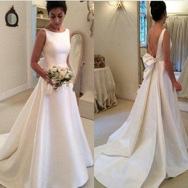 Robe De Mariage A line Dicken Hochzeit Kleid Oansatz Brautkleid Big ...