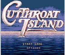 Cut Throat Island 16 bit MD Game Card For 16 bit Sega MegaDrive Genesis game console