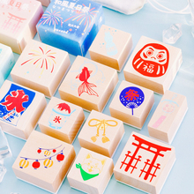 цена на Summer festival series wood stamp DIY craft wooden rubber stamps for scrapbooking stationery scrapbooking standard stamp