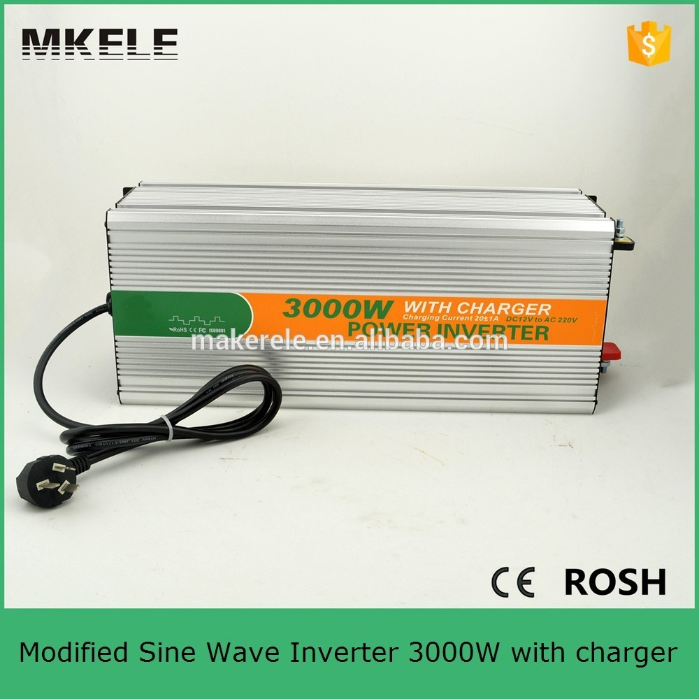 MKM3000-122G-C off grid 3000w inverter ac dc inverter 12v 220v solar inverter without battery 3kw power inverter with charger solar power on grid tie mini 300w inverter with mppt funciton dc 10 8 30v input to ac output no extra shipping fee