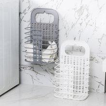 2019 new cotton washing dirty clothes big basket organizer bin handle picnic basket stand laundry folding storage Laundry basket
