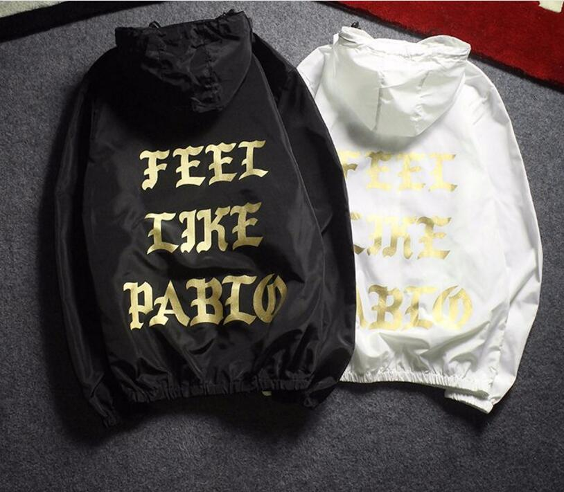 2018 Summer Sun-protective Windproof Hip Hop KANYE WEST Pablo Jacket Rainproof Sunproof I Feel like Paul Jackets Men Women
