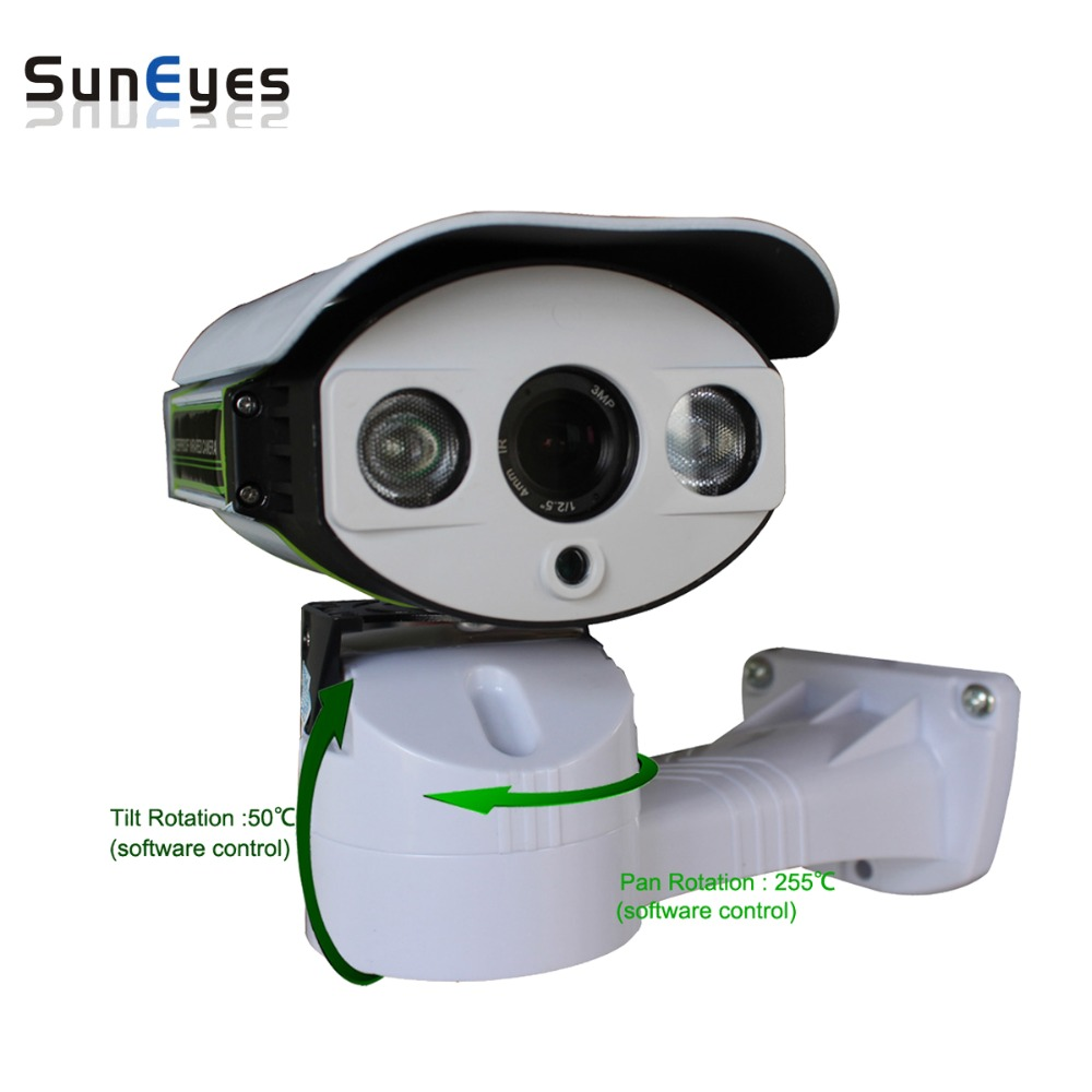 SunEyes SP-P1803SZ-POE PTZ IP Camera 1080P Full HD Outdoor Pan/Tilt/Zoom  6-22MM Optical Zoom with Micro SD Slot  IR Night рация vertex evx 539