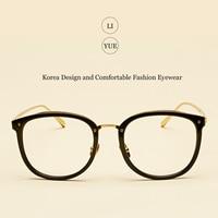 LIYUE New Women's optical glasses frame Fashion Brand designer women eyeglasses vintage Spectacles Frame eyewear Round