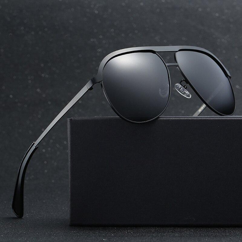 Designer de marca Óculos de Sol Da Moda Aviação HD Polarizada Sunglases  Condução Óculos de Sol Dos Homens Para O Sexo Masculino Gafas de sol  Mercedes 123 38fc21ae9e