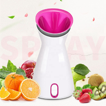 Professional Fruit Facial Steamer Hot Mist Steam Sprayer SPA Moisturizing Face Humidifier Deep Cleansing Beauty Care Instrument