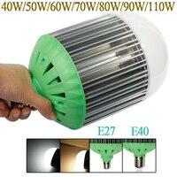 110W 90W 80W 70W 60W 50W 40W LED Spot Bulb Lamp E27 E40 White Warm White