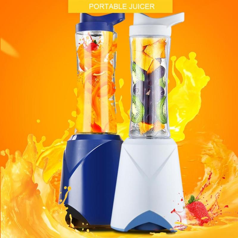 250W 600ml 4 Blades Portable Electric Juicer Handheld Fruit Blender Baby Food Milkshake Mixer Juice Maker Grinding Machine цена