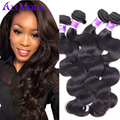 6A Brazilian Virgin Hair Body Wave 4Pcs Brazilian Virgin Hair Brazilian Body Wave Unprocessed Human Hair Extension Alimoda hair