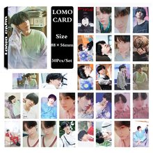 YANZIXG KPOP GOT7 Album Present YOU YuGyeom Self Made Paper Poster Photo Card Lomo Card HD Photocard Fans Gift Collection(China)