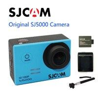 Бесплатная Доставка! оригинальный SJCAM sj5000 Новатэк 96655 Full HD Действие Спорт camerar + монопод + дополнительная 1 шт. Батарея + Батарея зарядки