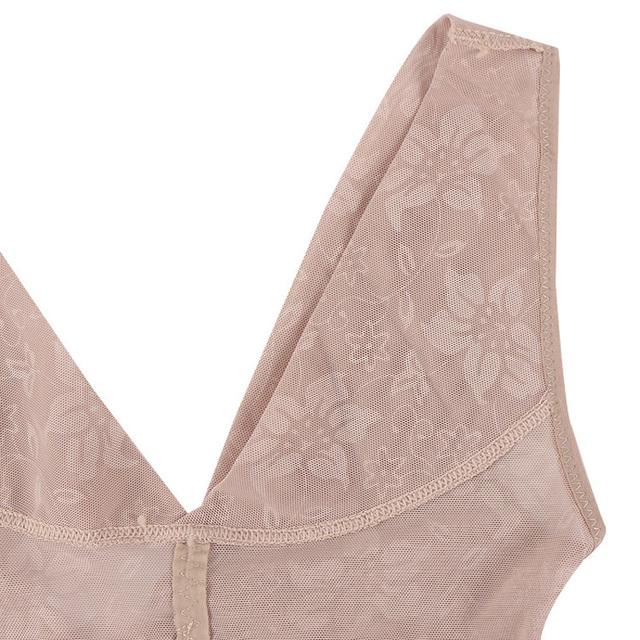 Women Body Shaper Postpartum Control Underbust Ultra-thin Breathable Tummy Waist Trainer Bodysuit Slimming Corrective Underwear