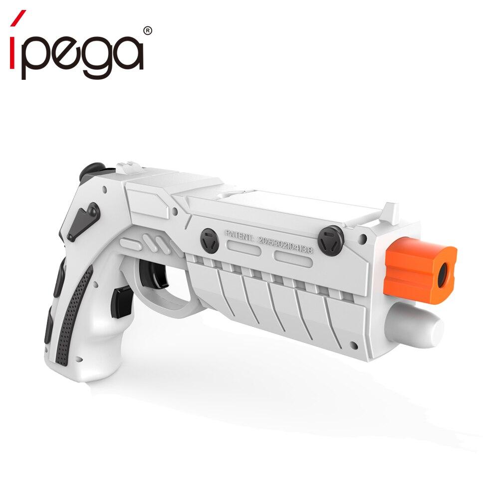 IPEGA 9082 PG-9082 PG9082 Bluetooth Shooting AR Gun Game Magic Gun Game Controller Gamepad Joystick for Android iOS Phone PC AR intelligent ar gun ar86