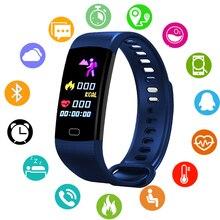 Smart Band Heart Rate Monitor Blood Pressure Watch Fitness Tracker Bluetooth Wristband Waterproof Sport BANGWEI Smart Bracelet недорого