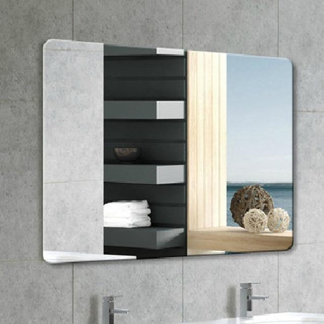 bao moda vidrio ultra claro espejo cuadrados espejo de pared espejo del bao with espejos sin marcos