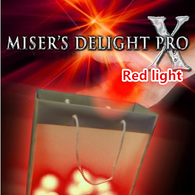 Free shipping! Misers Delight Pro X from Mark Mason (RED Light) - Magic Trick,Stage,mentalism,Close up,illusions,Party trick light heavy box stage magic floating table close up illusions accessories mentalism magic trick gimmick