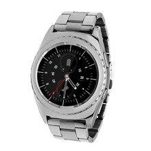 2016 neue Kreis Smart Uhr Edelstahlarmband Sim-karte Bluetooth Uhr für Android Smartphone VS G3 Smartwatch