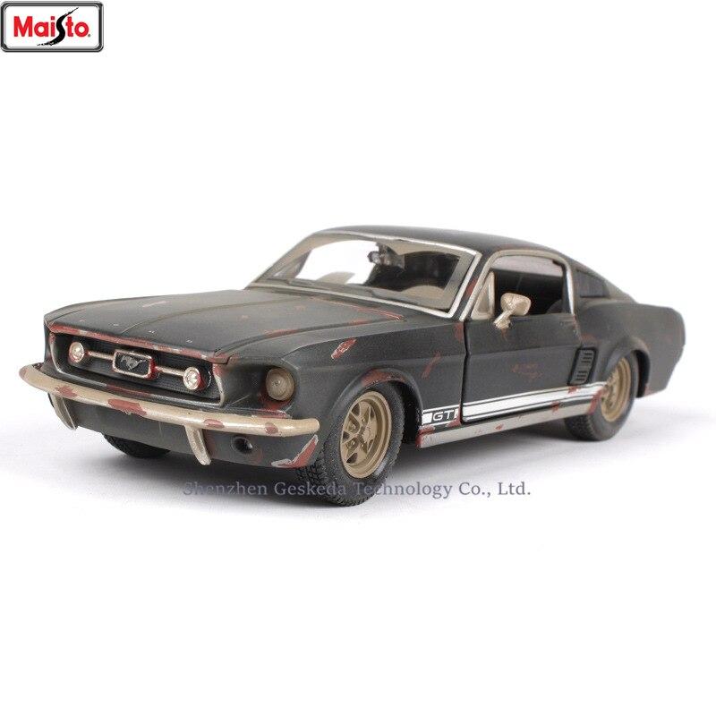 Maisto 1:24 Старый Форд Мустанг GT моделирование сплав модель автомобиля ремесла украшение Коллекция игрушки инструменты подарок|Игрушечный транспорт|   | АлиЭкспресс