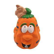 Cute Pumpkin Slow Rising Squeeze Decompression Toys Stress Reliever Toys Smooshy Mushy Toys стоимость