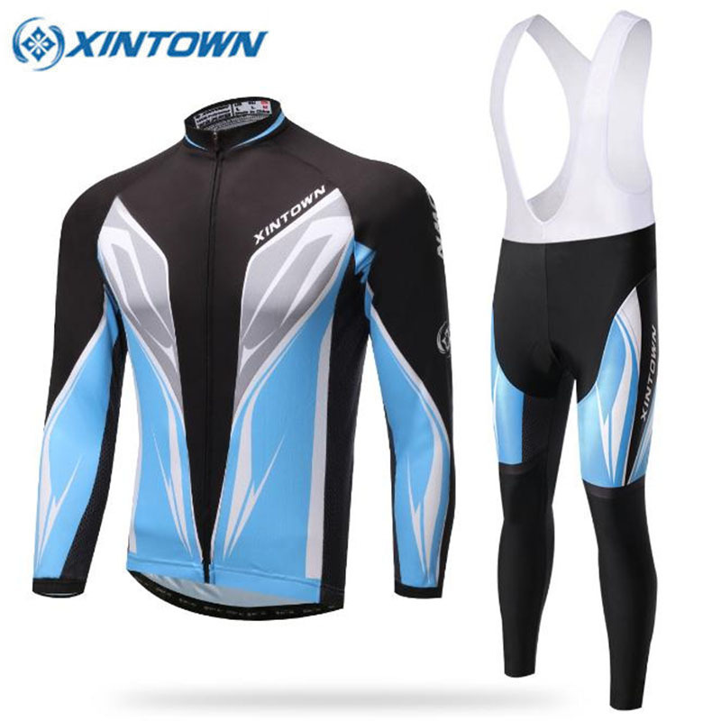 Pro Team Sky Blue Cycling Clothing Long Sleeve Mem Women Cycling Jersey Set Quick Dry MTB Bike Ropa Ciclismo Cycle Sportswear cheji team pro team sportswear long sleeve ropa ciclismo cycling jersey bicycle bike mtb cycle clothing 6d padded pants sets