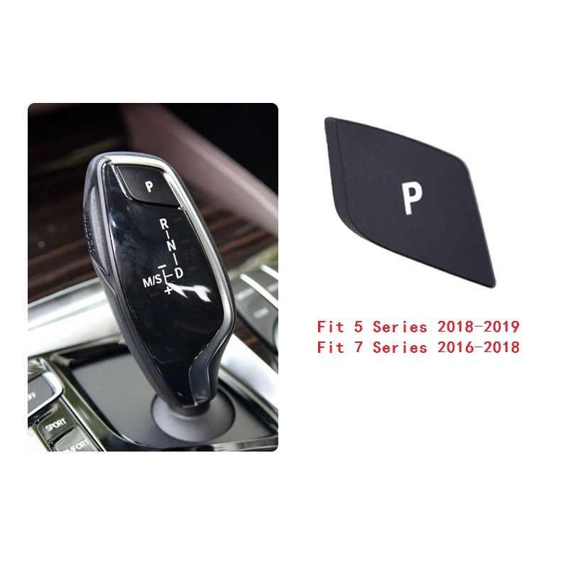 Xe ABS Nội Thất Điện Tử Bánh Răng Chuyển Dịch Đậu Xe P Nút Bọc Viền Cho Xe BMW 3 5 7 Series F01 F10 F18 e90 G30 X3 X4 X5 X6 E70 E71